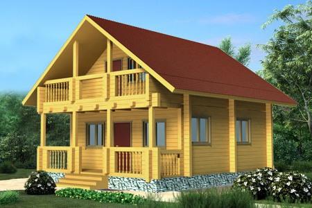 Дом из бруса Ефим
