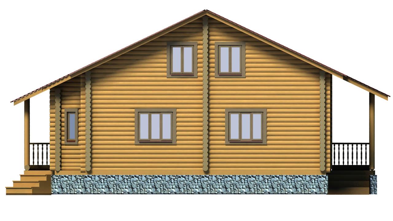 Лесная сказка фасад